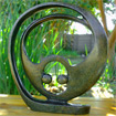 African Sculpture - Eternity, 12 H Shona Stone