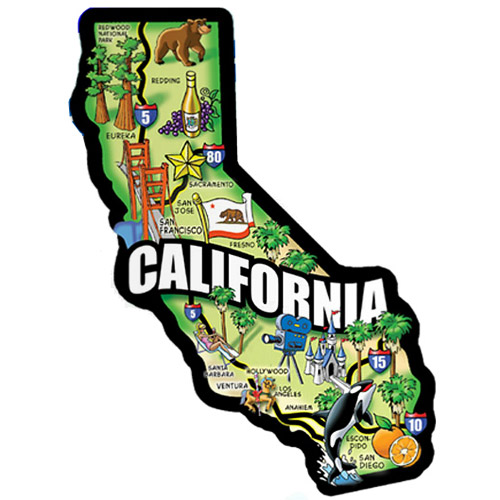 clip art california map - photo #42