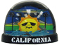 California Snow Globe - Sunshine, Small