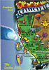 California State Map Postcard, Large