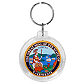 California State Seal Acrylic Key Chain