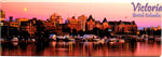 Panoramic View of Victoria Canada - Souvenir Magnet, 4-5/8 L