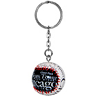 Chicago Souvenir Baseball Key Chain