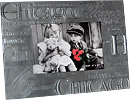 Chicago Souvenir Pewter Picture Frame
