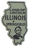 Illinois State - Refrigerator Magnet