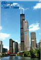 Sears Tower Souvenir Metal Magnet