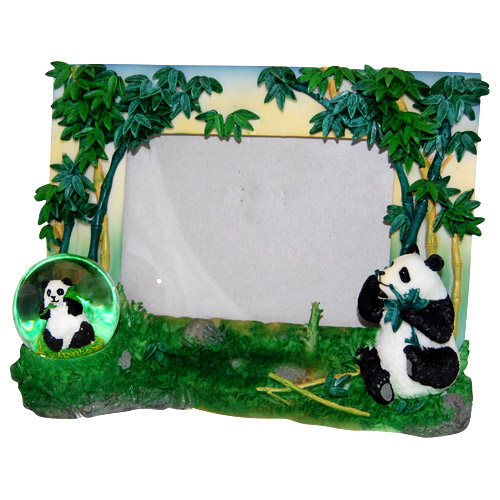 Panda Bear With Bamboo Picture Frame This Picture Frame Also Has A