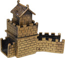Great Wall of China - Enamel Jeweled Trinket Box, 3 L