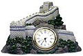 The Great Wall of China Model - Table Clock, 2 H