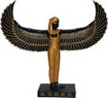 Egyptian Standing Isis Statue, 9 H