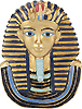 King Tut Mask Magnet