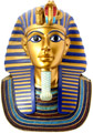 Large Statue of King Tut Mask 12 H