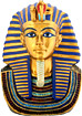 Mask of King Tut Replica, 4H