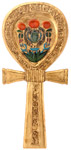 Ankh Shaped Mirror, 8 H