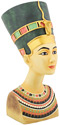 Nefertiti Bust Replica, 9 H