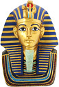 King Tut Mask Replica, 9 H
