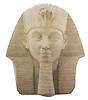Thutmose III Sandstone Bust, 6.75 H