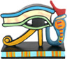 Eye of Horus Figurine, 3 W