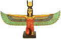 Winged Isis Figurine, 13.5 W