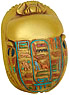 Egyptian Scarab with Hieroglyphs, 3 L