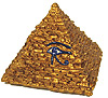 Small Pyramid w/ Eye of Horus, 2 H