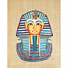 King Tut 12x16, Papyrus Painting