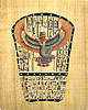Isis Tablet, 16 x12  Papyrus Painting