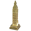 Big Ben Pencil Sharpener, Gold color, 4 H