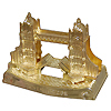 London Souvenirs - Tower Bridge Gold Pencil Sharpener, 3 L