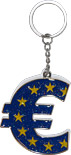 Euro Sign Keychain
