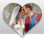 Prince William and Kate Wedding Fridge Magnet