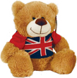 Union Jack T-shirt Teddy Bear