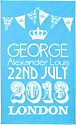Prince George of Cambridge Commemorative Tea Towel
