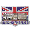 Buckingham Palace Foil Stamped Fridge Magnet