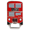 London Red Bus Bottle Opener Magnet