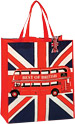 Union Jack Best of British Bus Shopping Bag