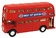Pull Back Die Cast London Bus, 4.5L