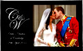 Royal Wedding Kiss Tea Towel