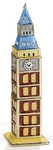 Big Ben Enamel Jeweled Trinket Box