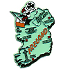Ireland Souvenir Fridge Magnet