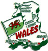 Wales, Great Britain Souvenir Magnet