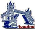 Tower Bridge, London Fridge Magnet