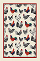 Rooster - Linen Tea Towel