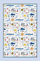 Sporting Life Sailing - Linen Tea Towel
