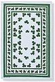 Shamrocks - Linen Tea Towel