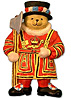 Beefeater Bears Magnet