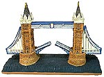 Tower Bridge Replica, Miniature Model in 7 L