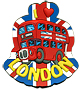 London Bus - I Love London Cut Out Souvenir Magnet