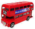 Die-Cast London Bus Replica, 6.5 L