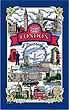 London Blue Border Tea Towel
